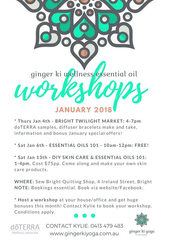 Jan 2018 workshops